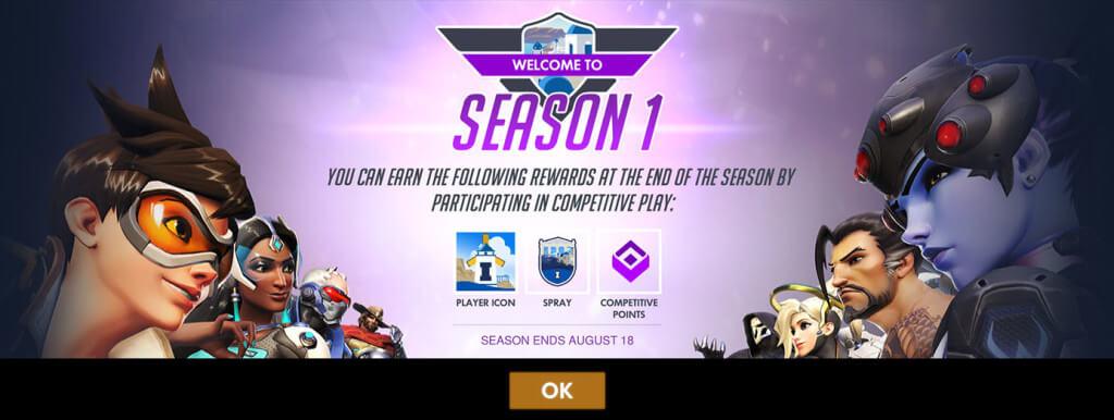 Augusztus 18-án véget ér az első Overwatch szezon