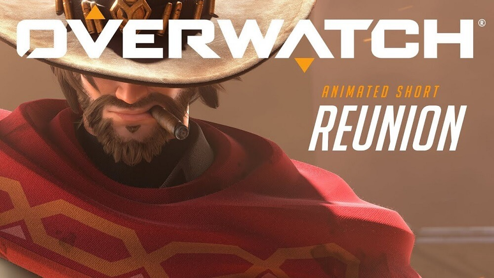 Overwatch animált rövidfilm McCree