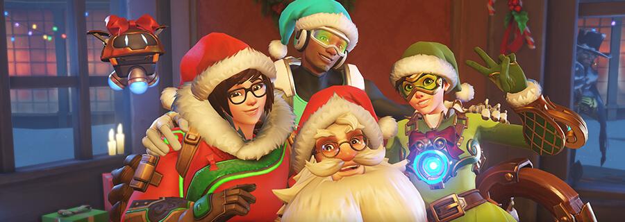 Overwatch karácsonyi esemény