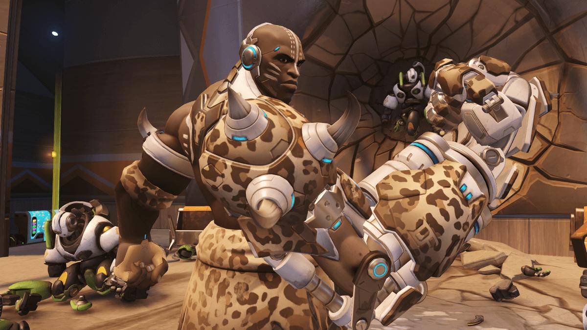 Doomfist Leopard skin