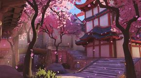 Overwatch Hanamura térkép