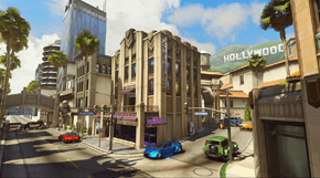 Overwatch Hollywood térkép