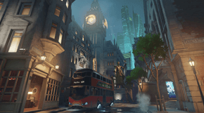 Overwatch King's Row térkép