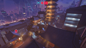 Overwatch Lijiang Tower térkép