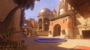Overwatch Temple of Anubis térkép