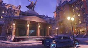 Overwatch Volskaya Industries térkép