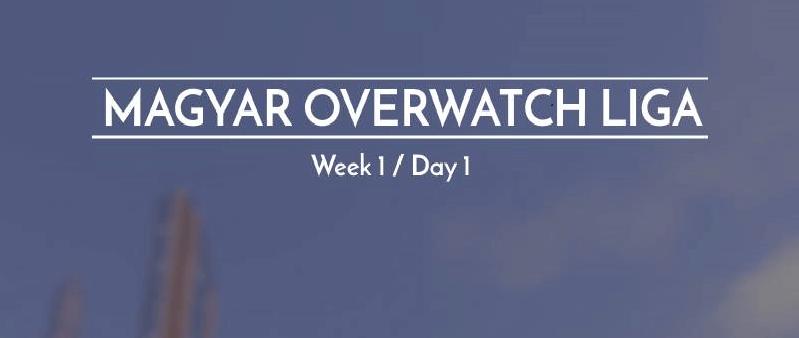 Magyar Overwatch Liga - 1. Szezon